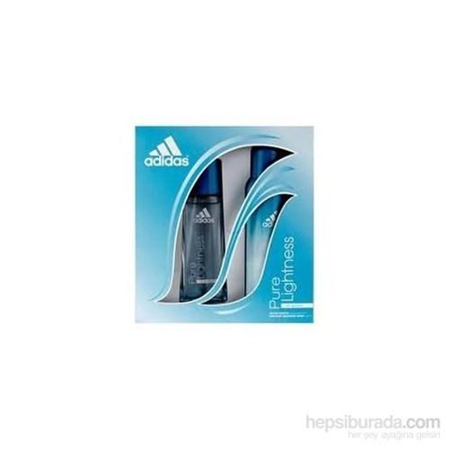 Adidas Pure Lightness 50Ml Kadın Parfüm + 150ML Deodorant Set