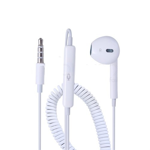 İphone Tekli Spiralli Buisness Kulaklık