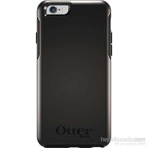 OtterBox Symmetry iPhone 6 Darbe Korumalı İnce Seri Siyah Kılıf - OTB-77-50547