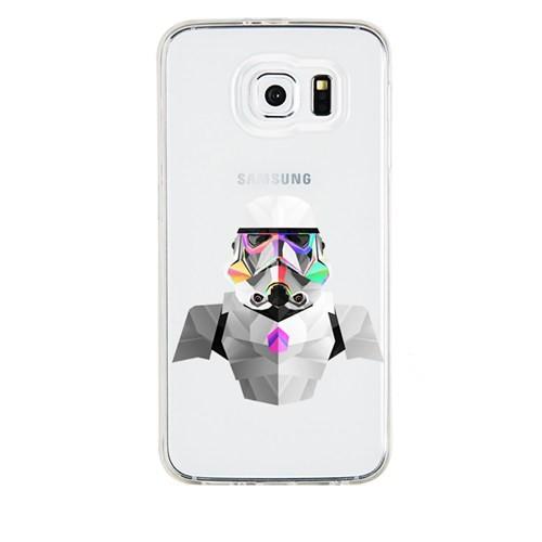 Remeto Samsung Galaxy Grand 2 Transparan Silikon Resimli Star Wars