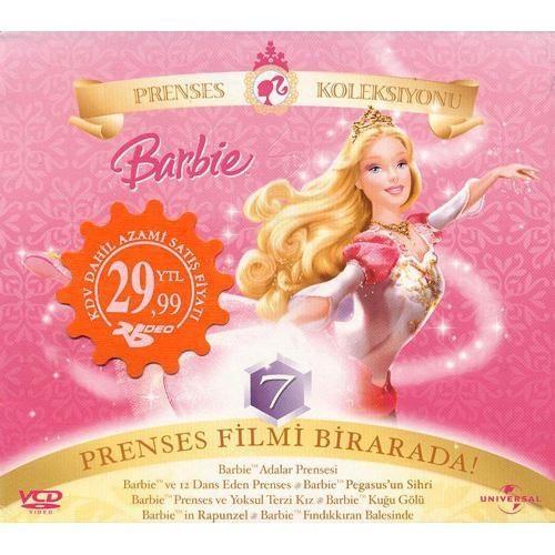 Barbie Prenses Koleksiyonu (7 Film - 7 VCD)