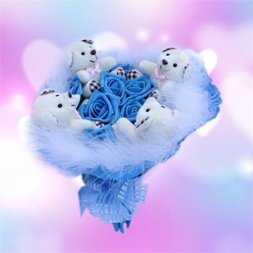 Sevgiliye Romantik Hediye Sevimli Ayıcıkların Rüyası