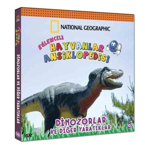 Eğlenceli Hayvanlar Ansiklopedisi - 10 (Dinozorlar ve Diğer Yaratıklar)