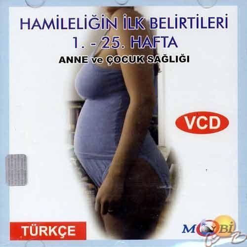 Anne ve Çocuk Sağlığı 1 (Hamileliğin İlk Belirtileri 1-25 Hafta) ( VCD )