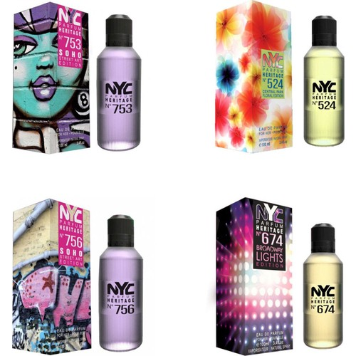 Nyc Soho Street Art Edition Edt 100 Ml*4 Kadın Parfüm Set