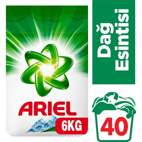 Ariel Çamaşır Deterjanı Dağ Esintisi 6 kg
