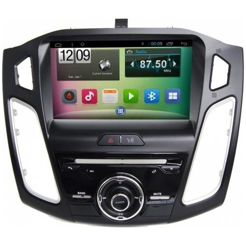 ford focus 9 inc android navigasyon multimedya double teyp bluetooth 2015 2017