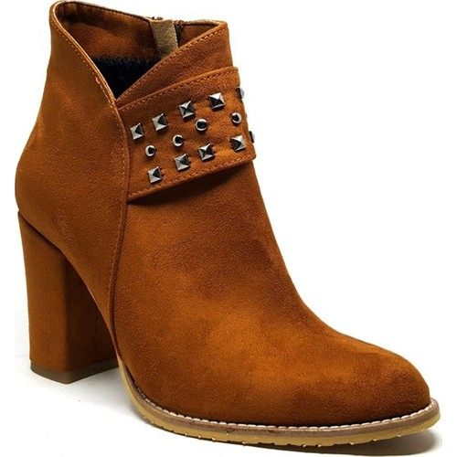 Shop and Shoes 173-121101 Taba Süet Bayan Bot