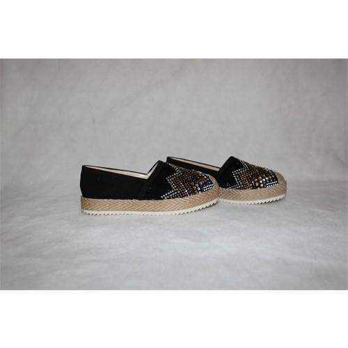 Shop and Shoes 061-TRS Siyah Bayan Ayakkabı