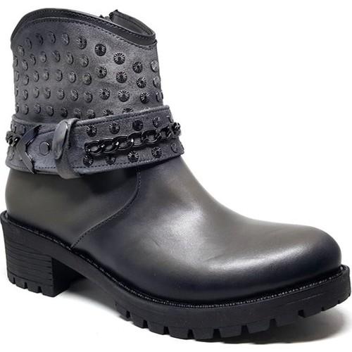 Shop and Shoes 190-411 Siyah Bayan Bot