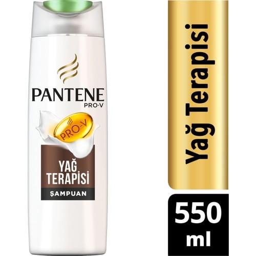 Pantene Şampuan Doğal Sentez Yağ Terapisi 550 ml