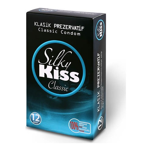 Silky Kiss Classic 12 Adet İthal Prezervatif