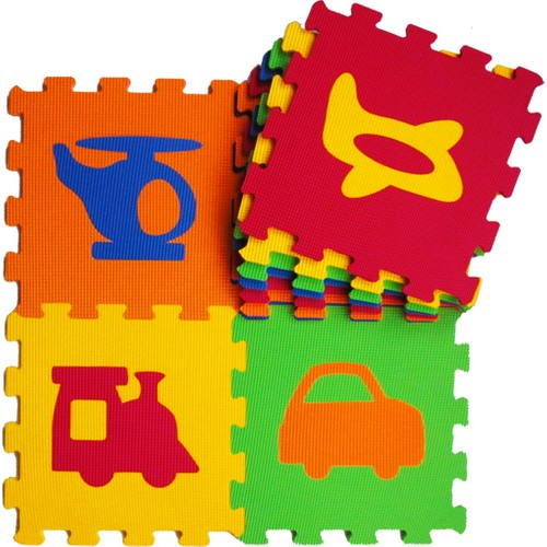Akar Eva Puzzle Oyun Karosu 33X33cm 10Mm Taşıtlar