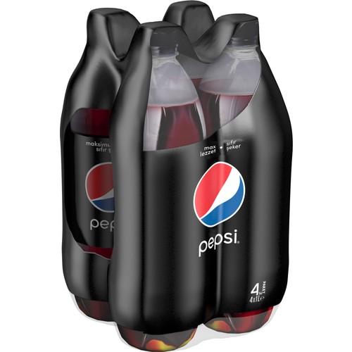 Pepsi Max 1 lt (4 Adet)