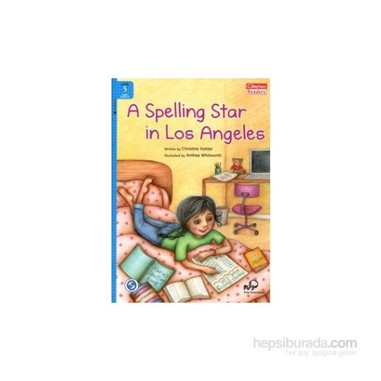 A Spelling Star İn Los Angeles +Downloadable Audio (Compass Readers 5) A2-Christine Kohler