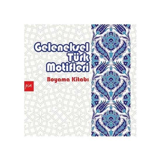 Geleneksel Türk Motifleri (Mandala Boyama)-Kolektif
