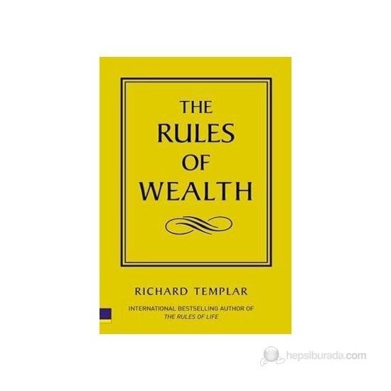 The Rules Of Wealth-Richard Templar