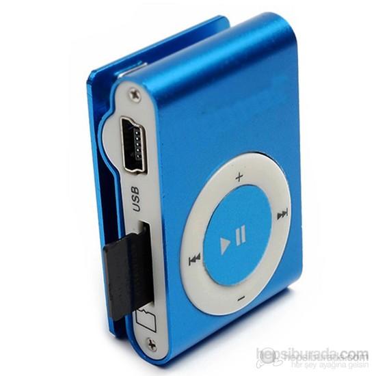 Player PL-101 8GB Mp3 Çalar - Mavi