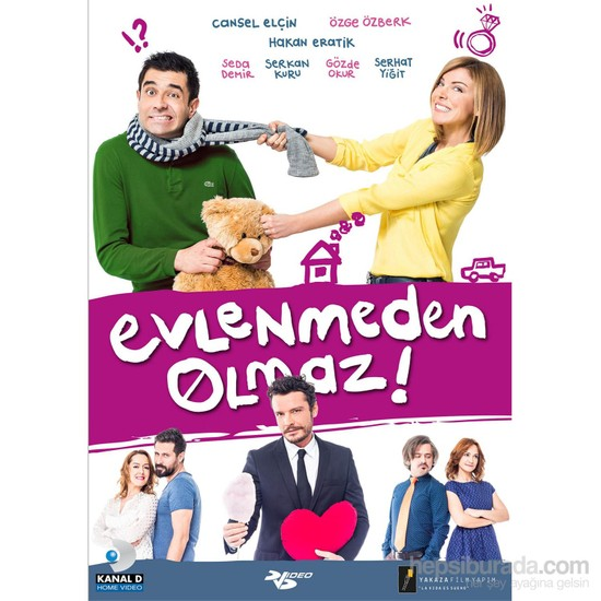 Evlenmeden Olmaz (DVD)