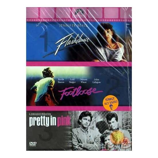 FlasHDance-footloose-prentty pink Box Set ( DVD )