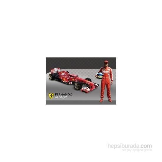 Maxi Poster Ferrari Alonso & Car