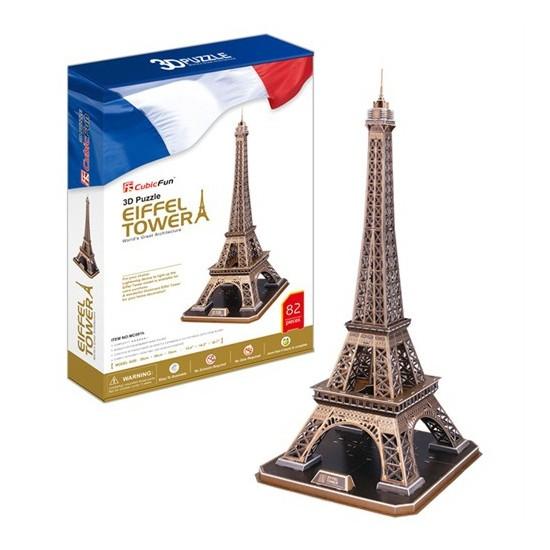 Cubic Fun Puzzle Eiffel Kulesi (3 Boyutlu)