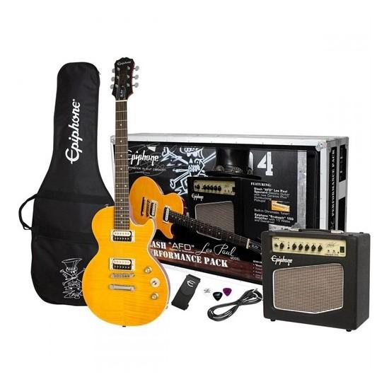 Epiphone Slash AFD Les Paul Performance Pack Elektro Gitar Seti