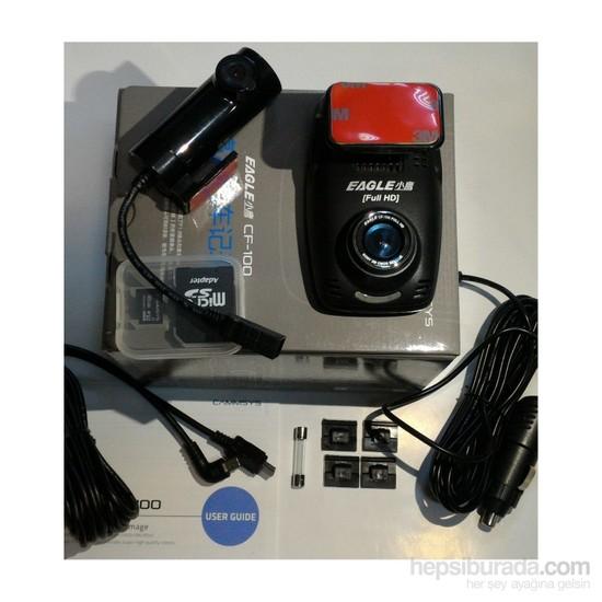 Blacksys Eagle CF100 2 Kameralı Full HD Full Box Araç Kamerası