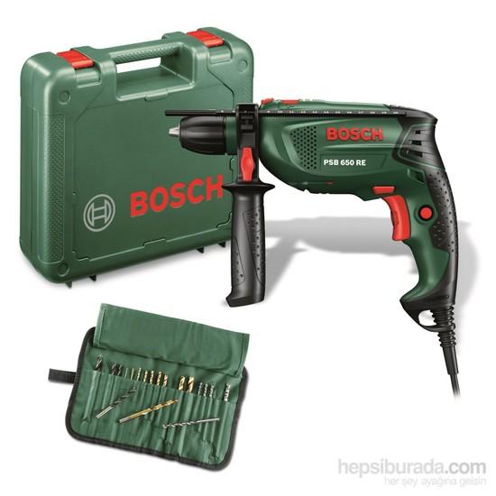 Bosch PSB 650RE 650W Kompakt Seri Çantalı Darbeli Matkap