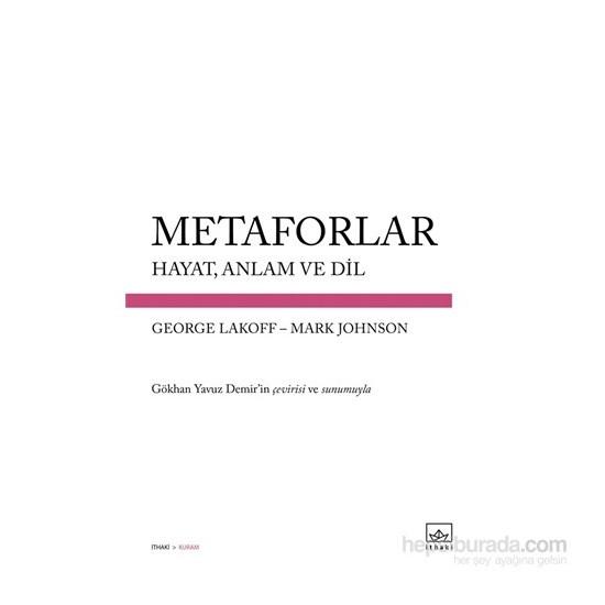 Metaforlar - George Lakoff