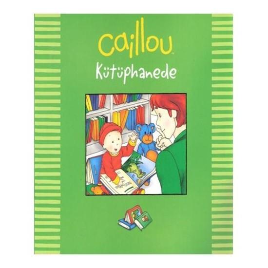 Caillou - Kütüphanede