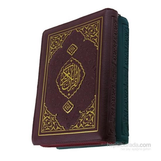 Çanta Boy 2 Renk Plast. Kılıflı Bilgisayar Hatlı Kuran-ı Kerim (1535P)