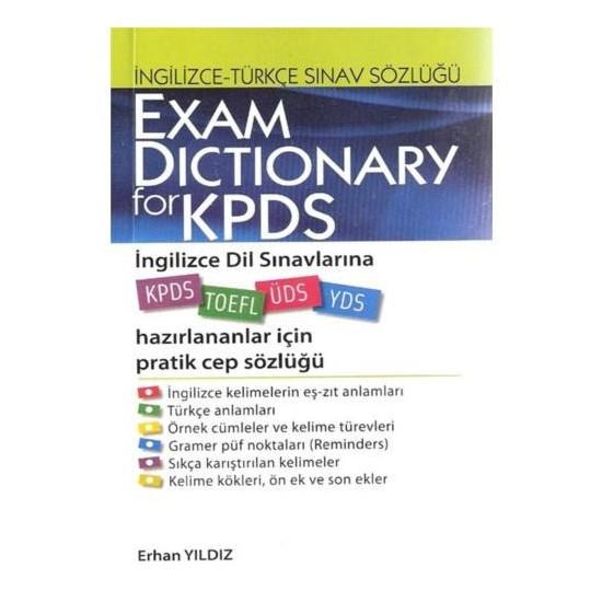 Exam Dictionary For Kpds