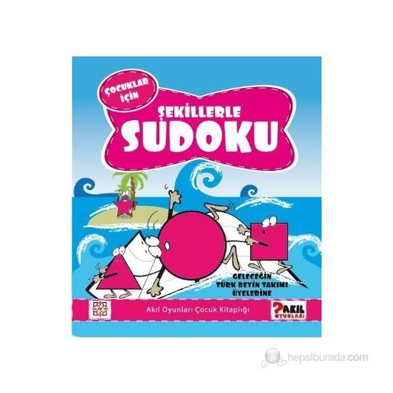 Çoçuklar İçin Şekillerle Sudoku-Kolektif