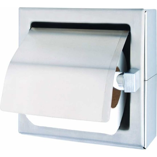 Bauboss Paslanmaz Tuvalet Kağıtlık (304 Kalite)