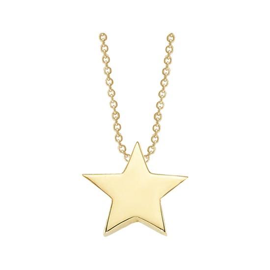 Altınsepeti Altın Minik Yıldız Kolye As1279Kl