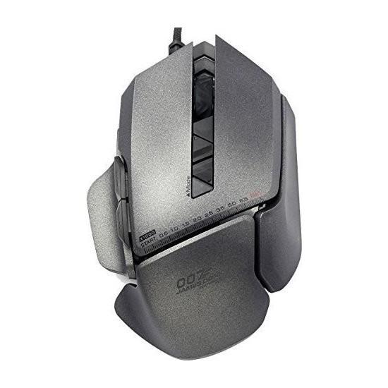 James Donkey 007 Gri Lazer 8200DPI 8 Tuş Avago Omron USB Pro Oyuncu Mouse