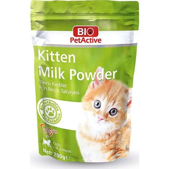 Pet Active Biopetactive Kitten Milk Süt Tozu 200 Gr