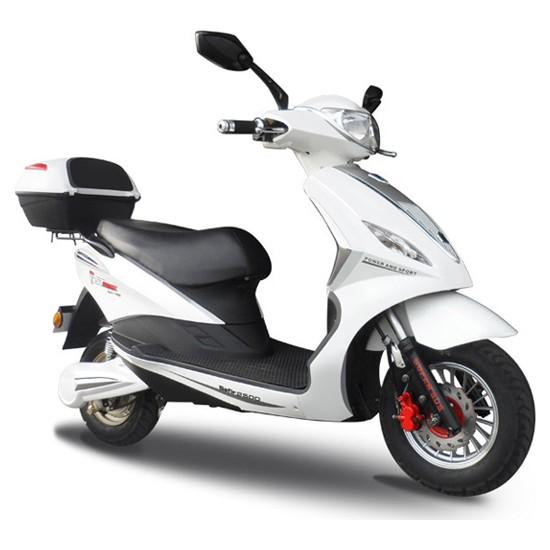 Stmax Safir 2500 Beyaz Elektrikli Motorsiklet