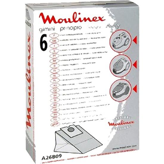 Moulinex 6'li Toz Torbası+1 Mikrofiltre A26B09