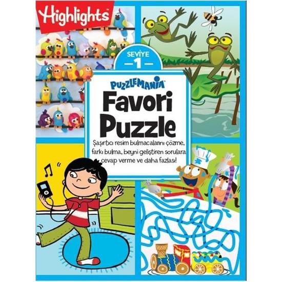 Highlights Favori Puzzle 4'lü Set