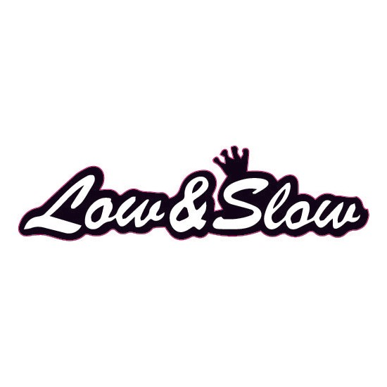 Smoke Low Slow Sticker