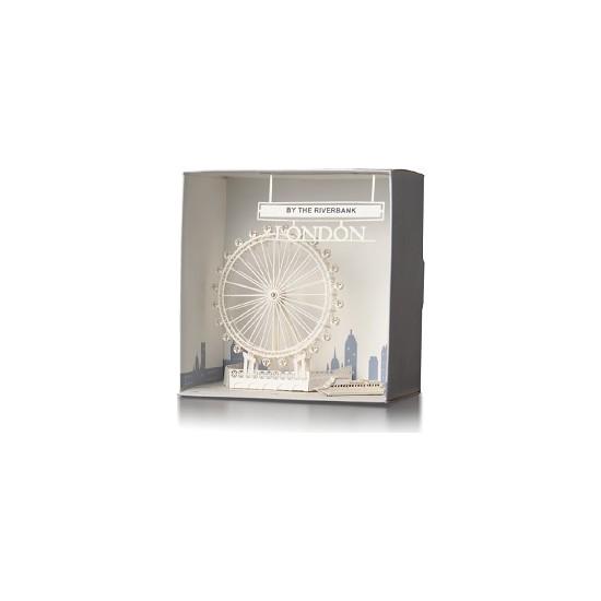 Wooderfullıfe 9025104 Kendin Yap 3D Karton Londra Golden Eye