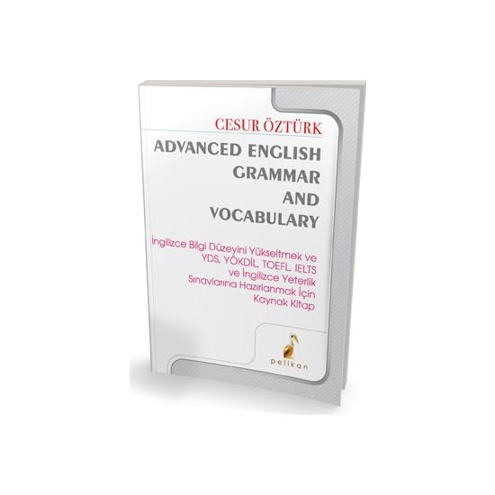 Pelikan Advanced English Grammar And Vocabulary Cesur Öztürk