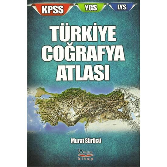 KPSS LYS YGS Türkiye Coğrafya Atlası