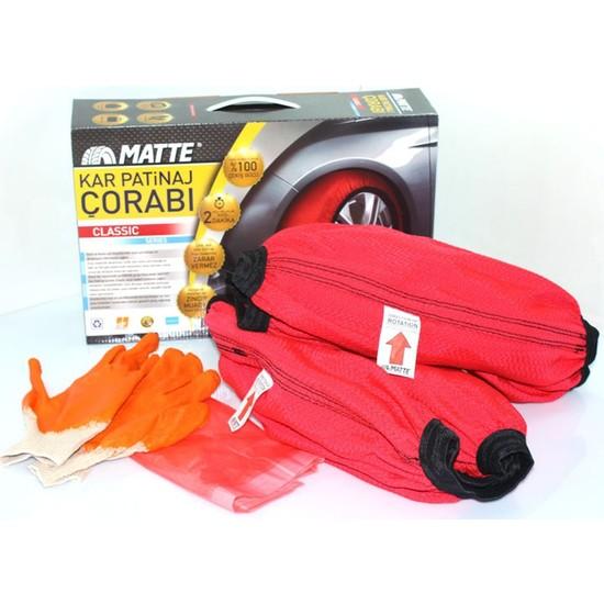 Matte Kar Çorabı® Classic / LARGE 245/40R/18 (Kanada Patentli)