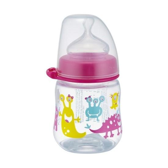 Nip Wide Neck Bottle 150 ml Anti - Kolik Kız Biberon