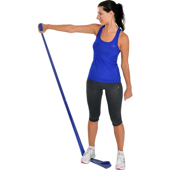 Msd Egzersiz ve Pilates Bandı Thera Band Mavi 120 cm