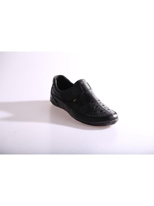 Dgn 64 Kadın Cırtlı Deri Günlük Ayakkabı