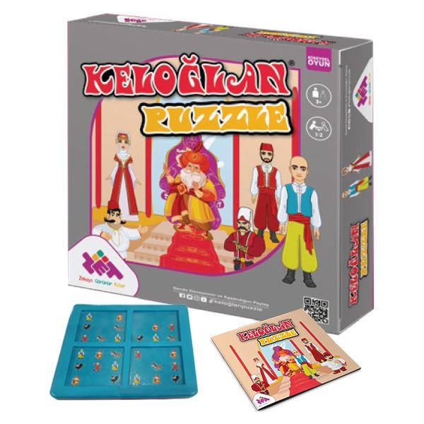 keloğlan puzzle zeka oyunu